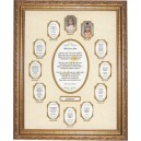 Graduation School Photo Collage Mat And Frame 1000A